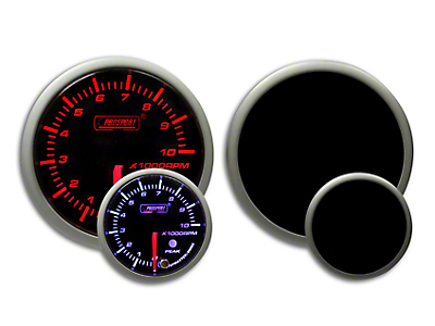 Prosport Dual Color Premium Tachometer - Amber/White (79-18 All)