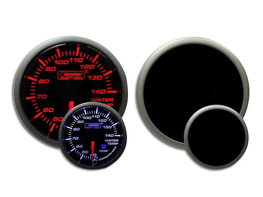 Prosport Dual Color Premium Metric Water Temperature Gauge - Amber/White (79-18 All)