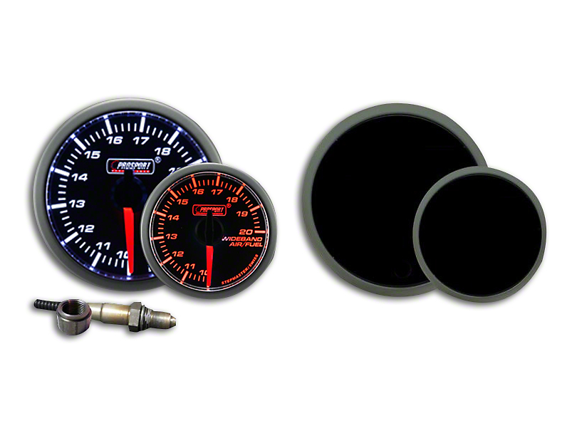 Prosport Dual Color Premium Wideband Air Fuel Ratio Kit - Amber/White (79-18 All)