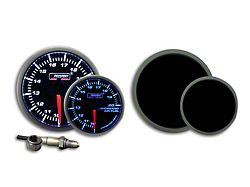 Prosport 52mm Premium Series Wideband Air/Fuel Ratio Gauge; Blue/White (Universal; Some Adaptation May Be Required)