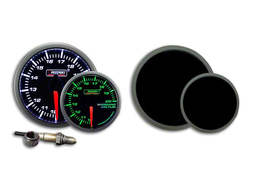Prosport Dual Color Premium Wideband Air Fuel Ratio Kit - Green/White (79-18 All)