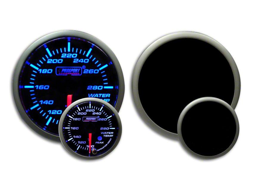 Prosport Premium Water Temperature Gauge - Blue/White (79-19 All)