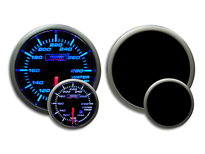 Prosport Premium Water Temperature Gauge - Blue/White (79-19 All)