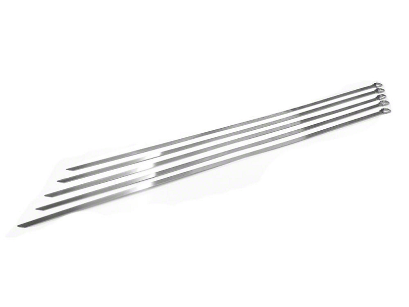 Prosport Stainless Steel Zip Ties - 14 in.