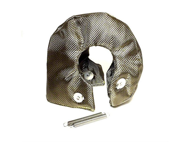 Prosport T4 Turbo Heat Shield Blanket - Titanium (Universal Fitment)