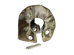 Prosport T4 Turbo Heat Shield Blanket; Titanium (Universal Fitment)