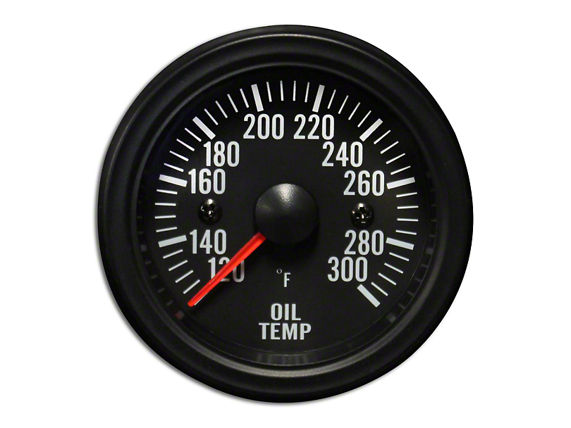 Prosport White LED Oil Temperature Gauge - Electrical (79-19 All)