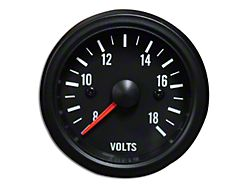 Prosport White LED Volt Gauge - Electrical (Universal Fitment)