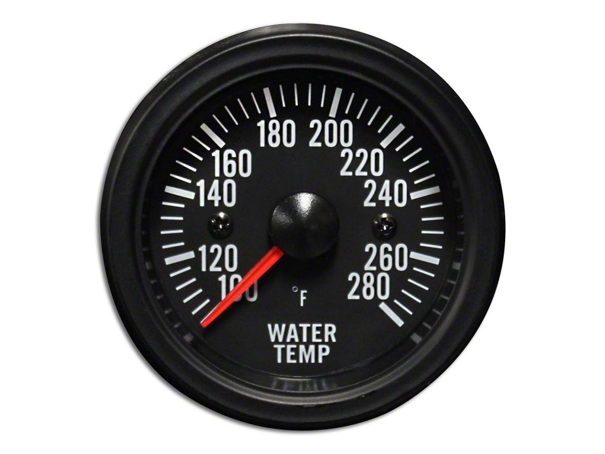 Prosport Performance Series Gauge w Sender, Blue White 52mm Oil Temperature Gauge Electric