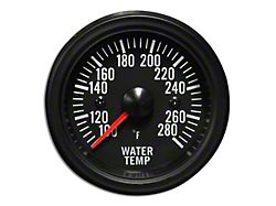Prosport White LED Water Temperature Gauge - Electrical (Universal Fitment)