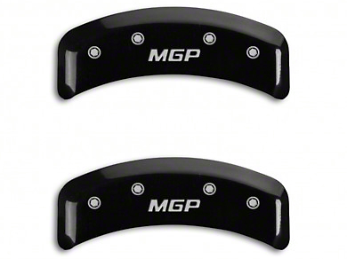 MGP Black Caliper Covers w/ MGP Logo - Front & Rear (99-04 GT, V6)