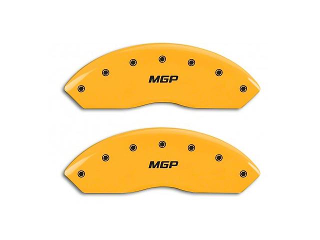 MGP Yellow Black Caliper Covers w/ MGP Logo - Front & Rear (99-04 GT, V6)