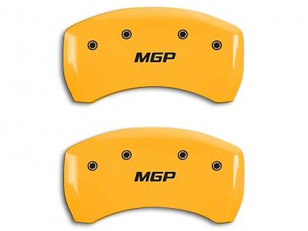 MGP Yellow Caliper Covers w/ MGP Logo - Rear Only (15-19 GT)