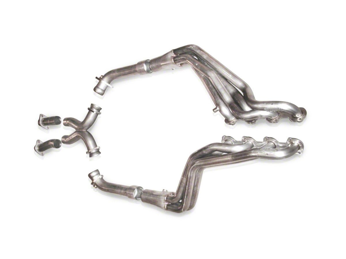 Stainless Works 1-5/8 in  Long Tube Headers w/ Off-Road X-Pipe (96-04 GT)