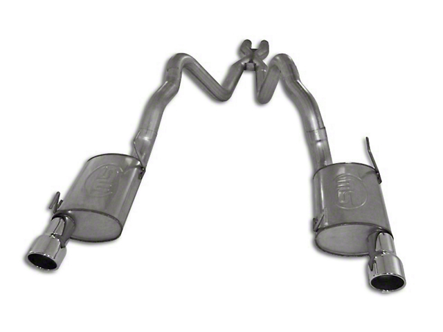 Stainless Works Turbo Chambered Cat-Back Exhaust w/ X-Pipe (05-09 GT w/ Long Tube Headers)
