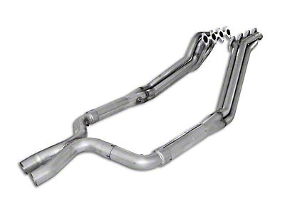 Stainless Works 1-5/8 in. Long Tube Headers w/ Catted X-Pipe (05-10 GT)