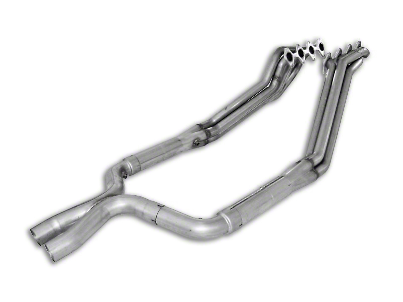 Stainless Works 1-3/4 in. Long Tube Headers w/ Catted X-Pipe (05-10 GT)