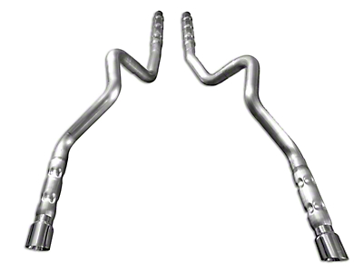 Stainless Works 3 in. Retro Chambered Cat-Back Exhaust (11-14 GT w/ Long Tube Headers; 11-12 GT500 w/ Long Tube Headers)