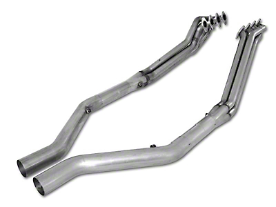Stainless Works 1-5/8 in. Long Tube Headers w/ Off-Road X-Pipe (05-10 GT)