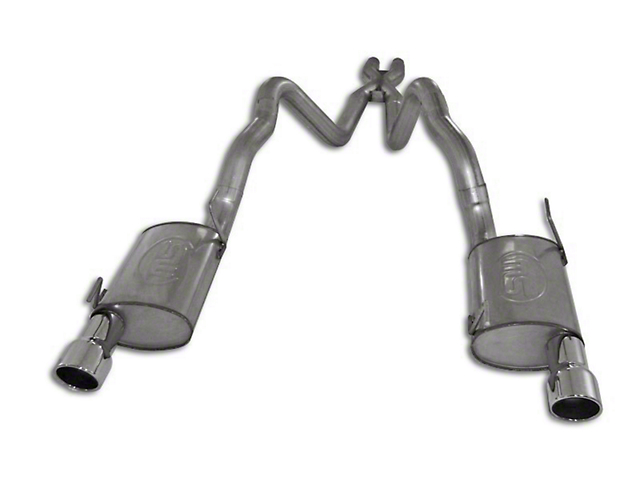 Stainless Works S-Tube Turbo Cat-Back Exhaust w/ X-Pipe (2010 GT)