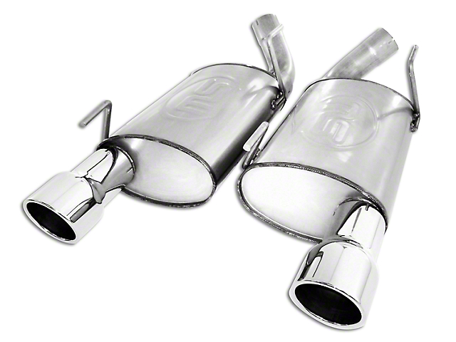 Stainless Works Turbo Chambered Axle-Back Exhaust (2010 GT)