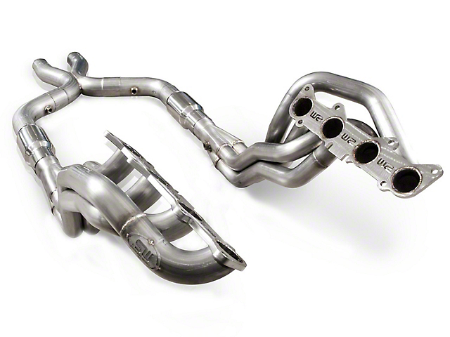 Stainless Works 1-7/8 in. Long Tube Headers w/ Catted X-Pipe (11-14 GT)