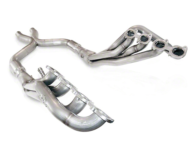 Stainless Works 1-7/8 in. Long Tube Headers w/ Catted X-Pipe (07-14 GT500 w/ SW Cat-Back)