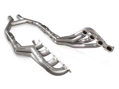 Stainless Works 1-7/8 in. Long Tube Headers w/ Catted H-Pipe (07-14 GT500 w/ SW Cat-Back)