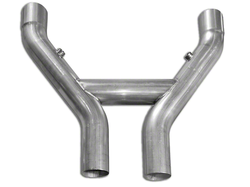 Stainless Works Catted H-Pipe (07-14 GT500 w/ Long Tube Headers)