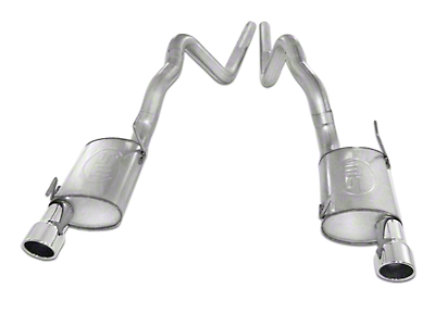 Stainless Works Turbo Chambered Cat-Back Exhaust (07-10 GT500)