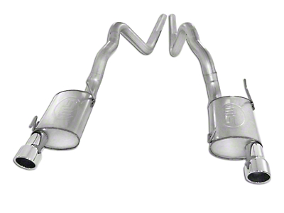 Stainless Works S-Tube Turbo Cat-Back Exhaust (07-10 GT500)