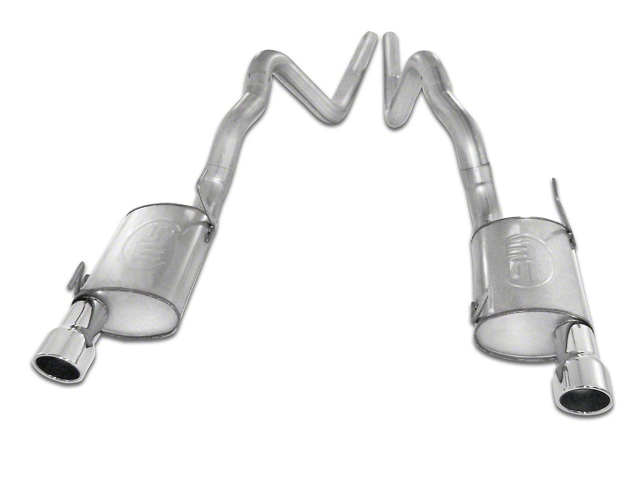 Stainless Works S-Tube Turbo Cat-Back Exhaust (07-10 GT500 w/ Long Tube Headers)