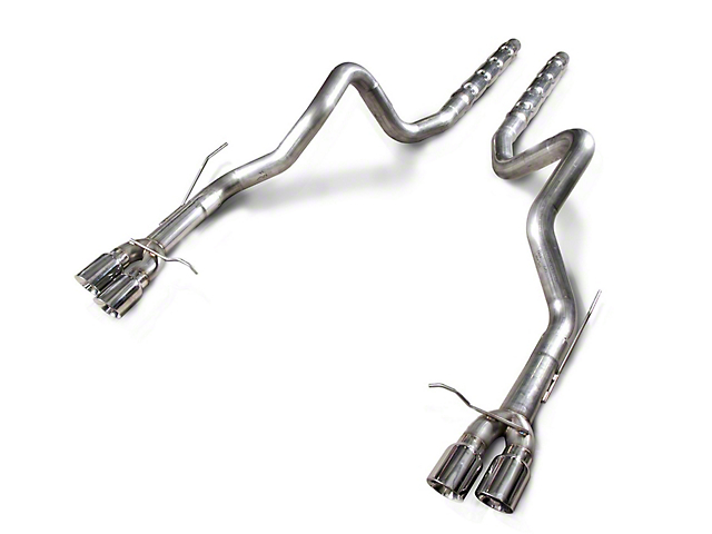 Stainless Works Retro Chambered Resonator Delete Cat-Back Exhaust (13-14 GT500)
