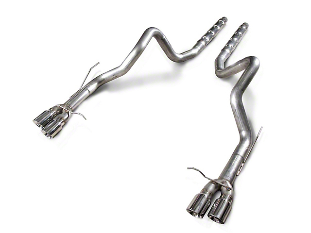 Stainless Works Retro Chambered Cat-Back Exhaust (13-14 GT500 w/ Long Tube Headers)