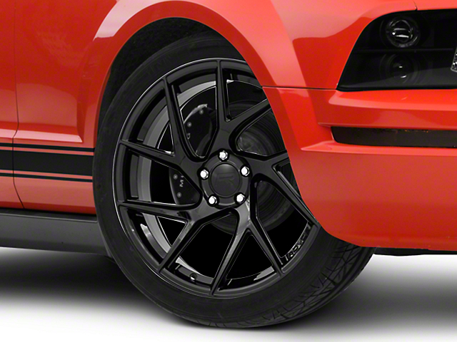 Rovos Joburg Gloss Black Wheel; 20x8.5 (05-09 All)