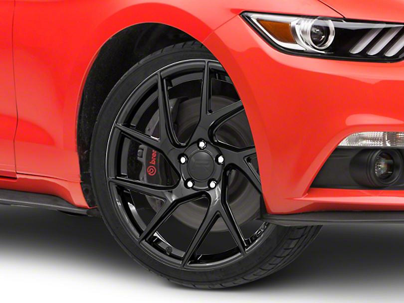 Rovos Joburg Gloss Black Wheel - 20x8.5 (15-19 GT, EcoBoost, V6)