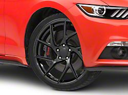Rovos Joburg Gloss Black Wheel; 20x8.5 (15-20 GT, EcoBoost, V6)