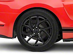 Rovos Joburg Gloss Black Wheel; Rear Only; 20x10 (15-20 GT, EcoBoost, V6)