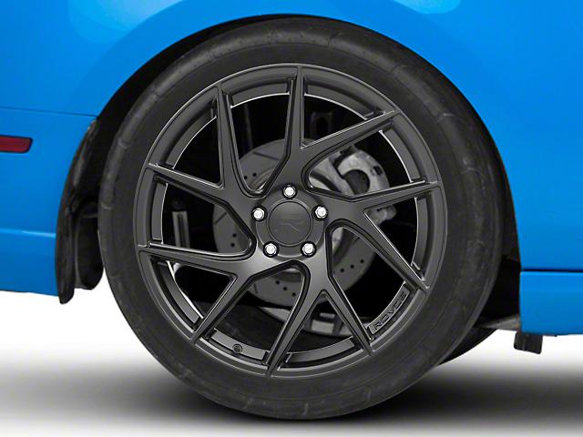 Rovos Joburg Satin Black Wheel - 20x10 - Rear Only (10-14 All)