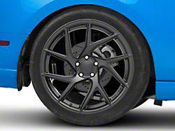 Rovos Joburg Satin Black Wheel; Rear Only; 20x10 (10-14 All)