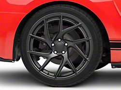 Rovos Joburg Satin Black Wheel; Rear Only; 20x10 (15-20 GT, EcoBoost, V6)