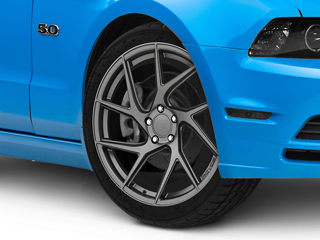 Rovos Joburg Satin Gunmetal Wheel; 20x8.5 (10-14 All)