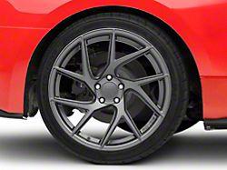 Rovos Joburg Satin Gunmetal Wheel; Rear Only; 20x10 (15-20 GT, EcoBoost, V6)