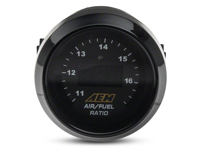 AEM Electronics Digital Wideband UEGO Air Fuel Ratio Gauge (Universal Fitment)