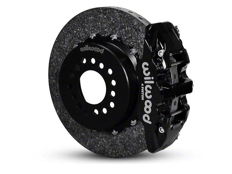 Wilwood AERO4 Dynamic Rear Brake Kit - Black (05-14 All)