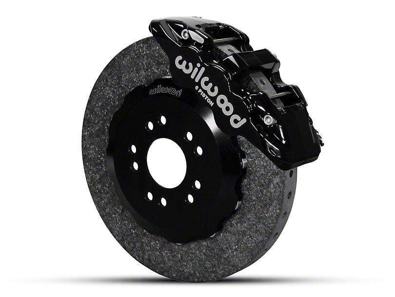 Wilwood AERO6 Dynamic Front Brake Kit - Black (05-14 All)