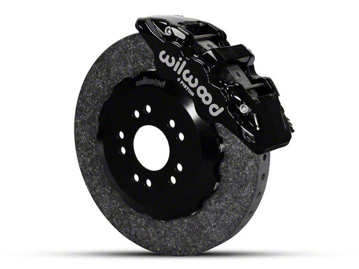 How To Install Wilwood Aero6 Dynamic Front Brake Kit Black 05 14