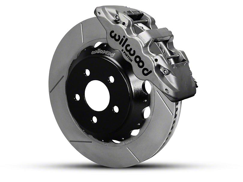 Wilwood AERO6 Front Brake Kit w/ 14 in. Slotted Rotors - Nickel (15-19 All)