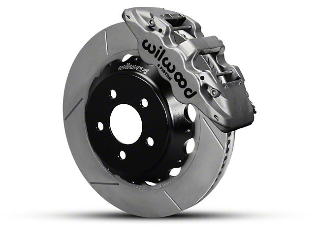 Wilwood AERO6 Front Brake Kit w/ 14 in. Slotted Rotors - Nickel (15-18 All)