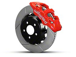 Wilwood AERO6 Front Big Brake Kit w/ 14 in. Slotted Rotors - Red (15-19 All)